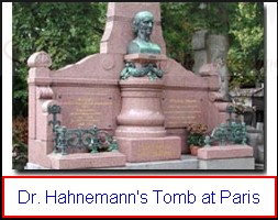 Hahnemanns-Tomb1 The un-burial of Melanie Hahnemann - Opening the grave