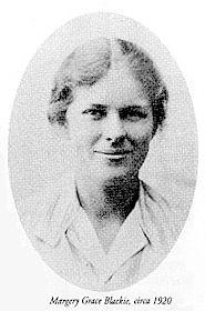 MargeryGraceBlackie Margery Grace Blackie  - Pioneering women homeopaths