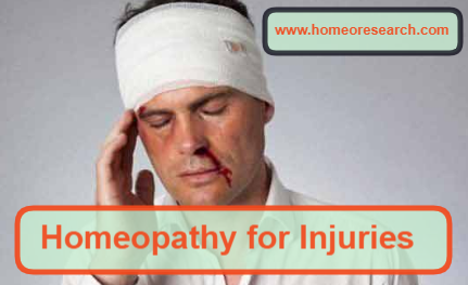 homeopathic medicine for injuries