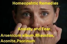 anxietyhomeopathicremedies Anxiety and Fear  treatment in Homeopathy without side effects