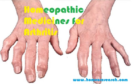 Homeopathic Medicines for Arthritis