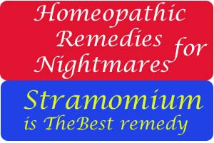 nightmares homeopathic remedy