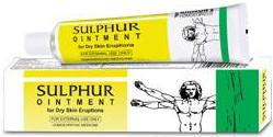 baksons-homeopathy-sulphur-ointment Sulphur Ointment Uses in Homeopathy for Skin Complaints
