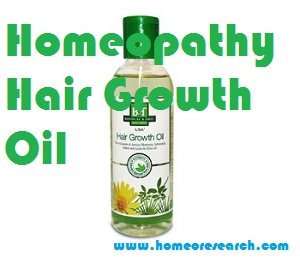 Homeopathy Hair Growth Oil