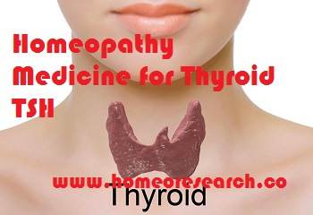 Homeopathy Medicine for Thyroid TSH