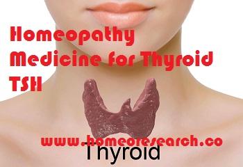 Homeopathy Medicine for Thyroid TSH