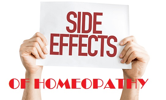 homeopathic medicine side effects