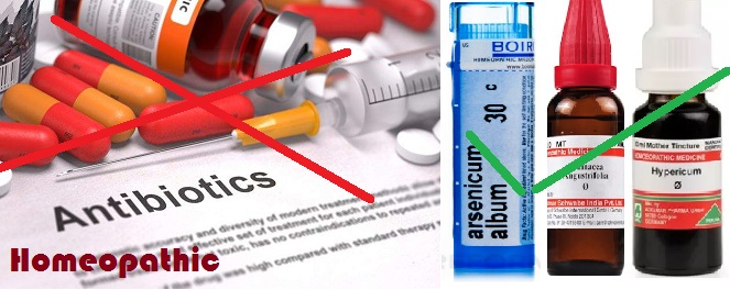 homeopathic antibiotics