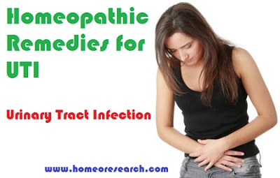 Homeopathic remedies for UTI