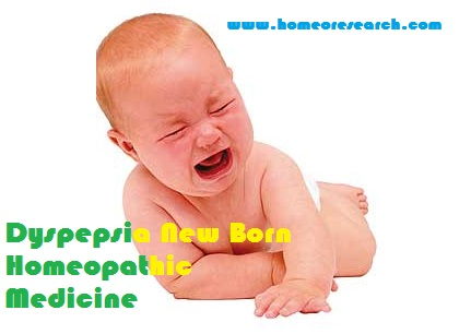 homeopathic medicine for dyspepsia in newborn