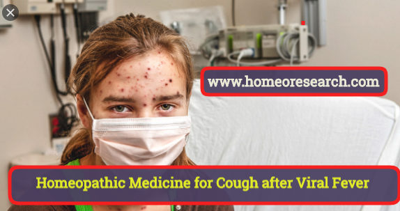 Homeopathic Medicine for Cough After Viral Fever