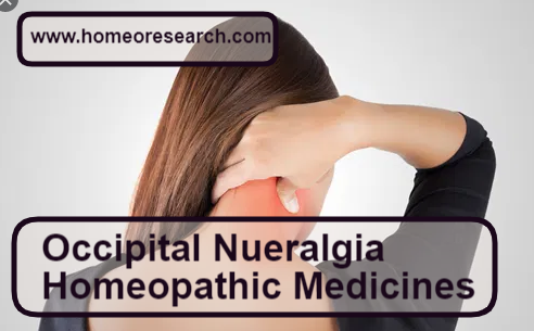 Homeopathic medicine for occipital neuralgia