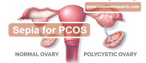 Sepia for PCOS