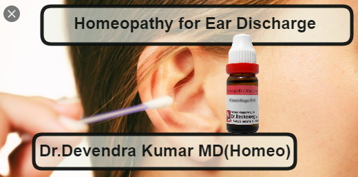 Homeopathic Medicines for Ear Discharge